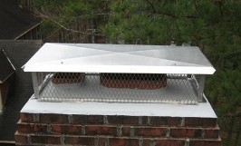 Chimney Caps Keep Out Water & Moisture
